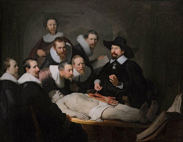 Lección de anatomía (Rembrandt)