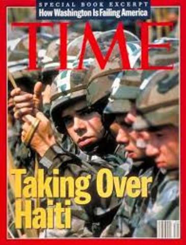 U.S. Intervention in Haiti