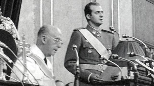 Elegido sucesor de Franco
