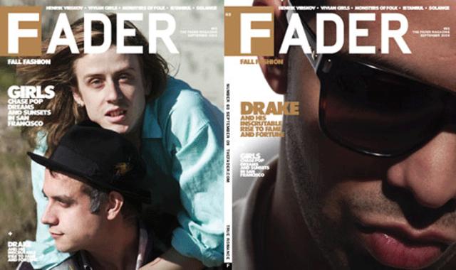 FADER FIRST: Drake