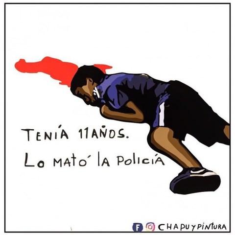 La policía mata a Facundo de 12 años por la espalda
