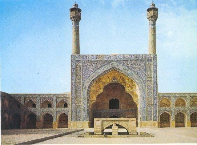 Iwán sur de la Gran Mezquita