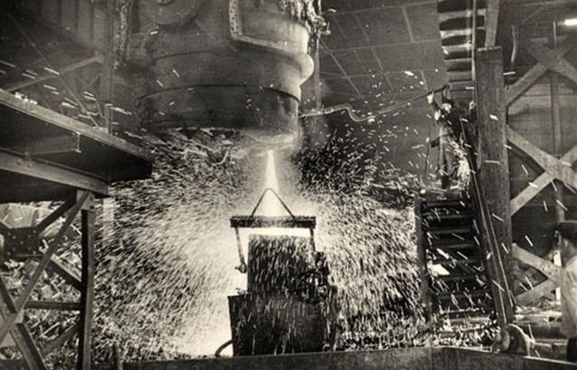 La industria sideruúrgica