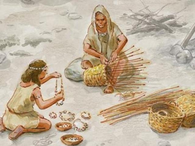 Cestería y Alfarería (8000 a.C.). Objetos Técnicos y Tecnologías Incorporadas