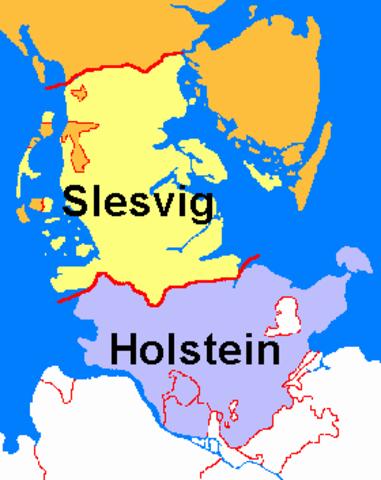 Denmark Resurrected its Claim to Schleswig & Holstein