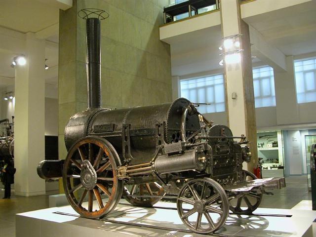 Máquina de vapor. Objetos Técnicos y Tecnologías Incorporada