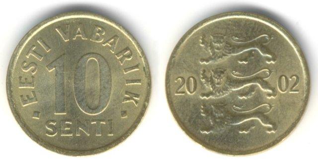 Eest raha ajalugu