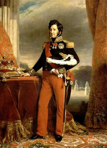 Revolution in France against Charles X