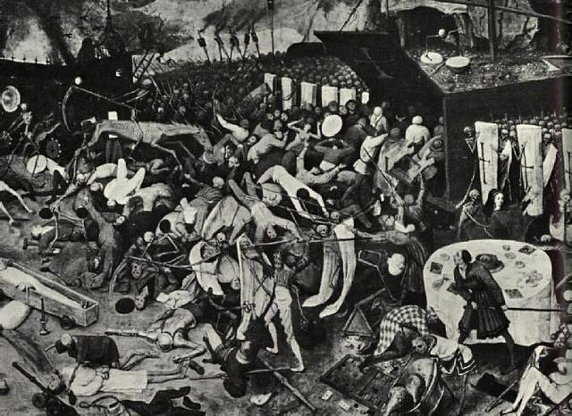 The Plague First Reaches Europe
