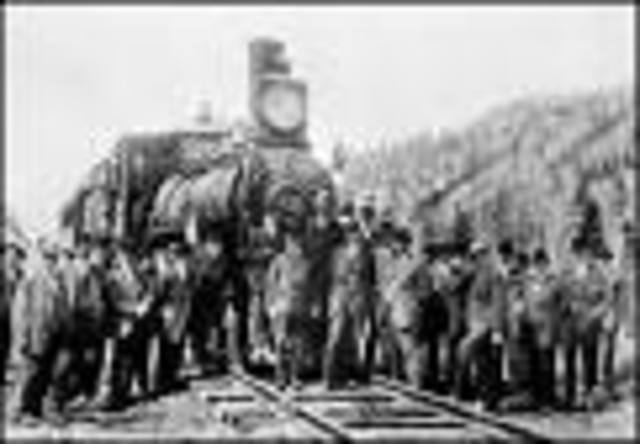 Completion of the Transcontinental Rail Road
