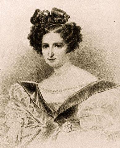 Richard Wagner sees Wilhelmine Schröder
