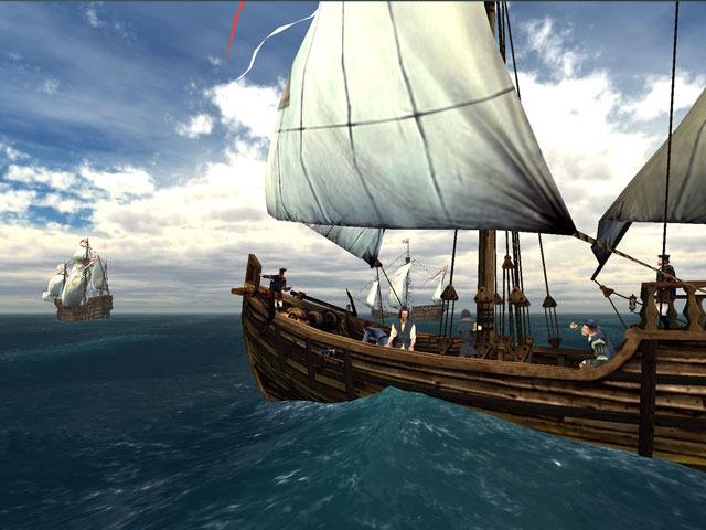 Cristopher Columbus Landing in the New World