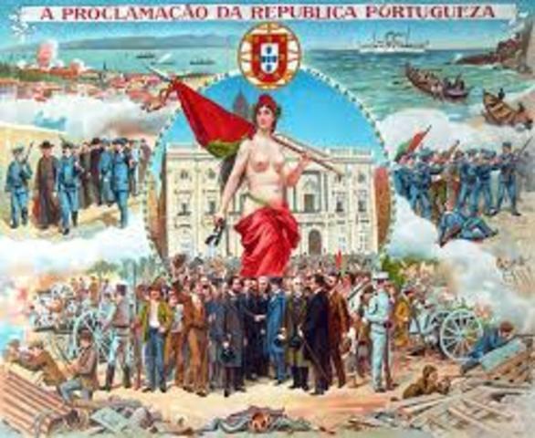 Implantación de la República Portuguesa