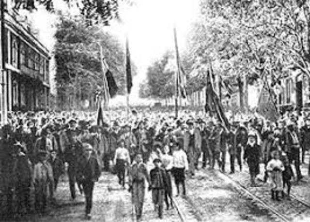 Manifestaciones de apoyo a lo os Aliados por parte de los portugueses