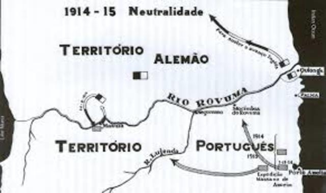 Refuerzo de las guarniciones de Angola y Mozambique