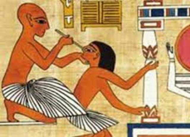 LA ODONTOLOGÍA EN EGIPTO