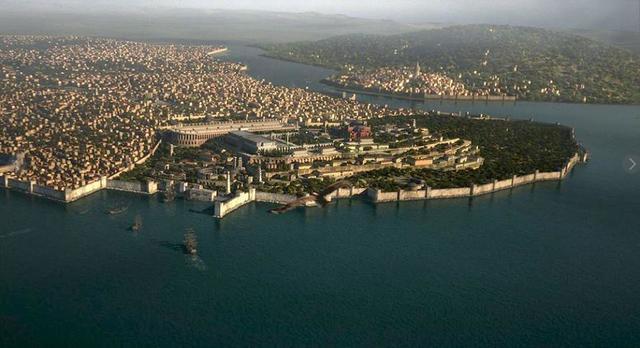 Camino hacia Constantinopla.