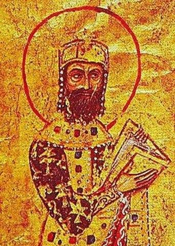 Coronación de Alejo IV.