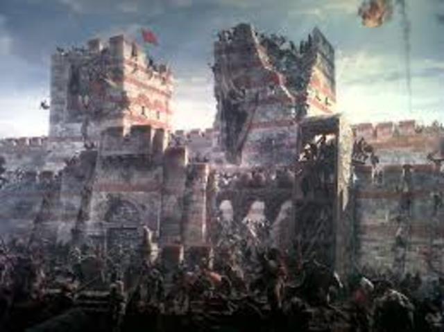 Ataque a Constantinopla.