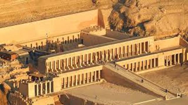Camino a Egipto.