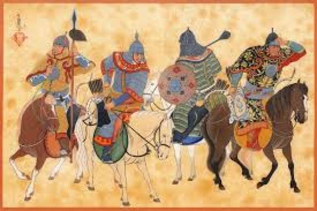 Mongoles de Oriente.