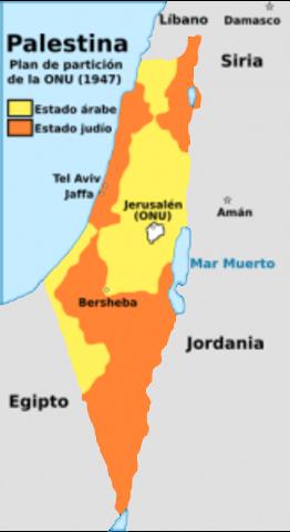 Captura del litoral Palestino.