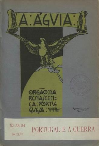"""Número especial de la revista """"A Águia"""" sobre la """"Grande Guerra"""""""
