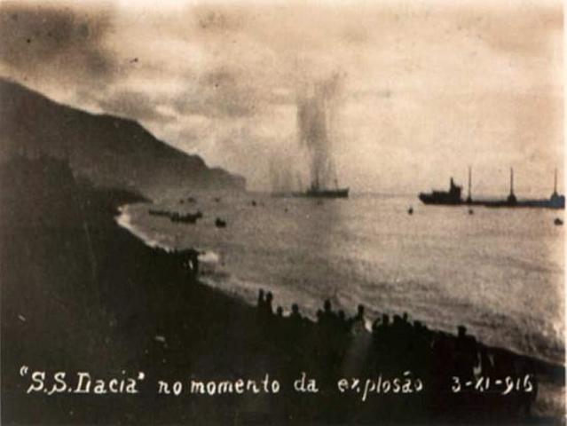 Bombardeo de Funchal (Madeira)