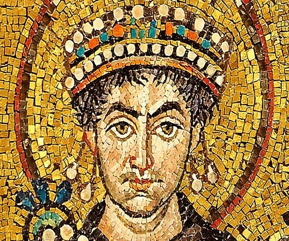 Emperor Justinian I Takes Power