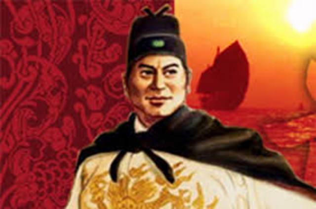 Zheng He Departs