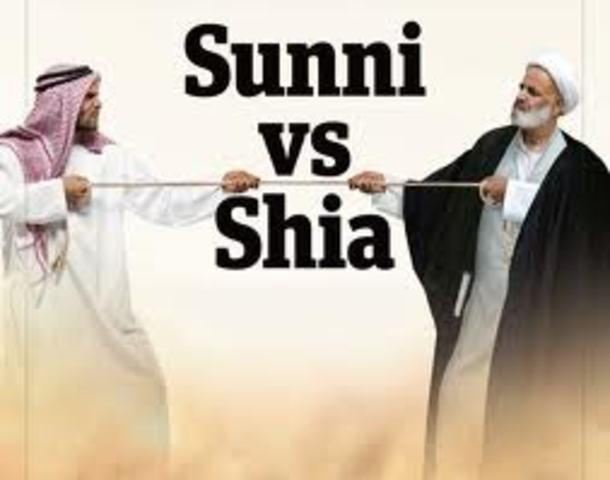 Sunni vs. Shi'ite Split