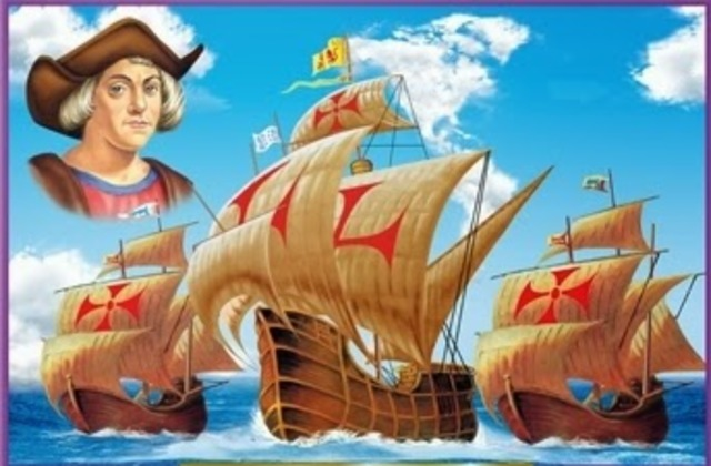 Llegada de Colon al continente americano