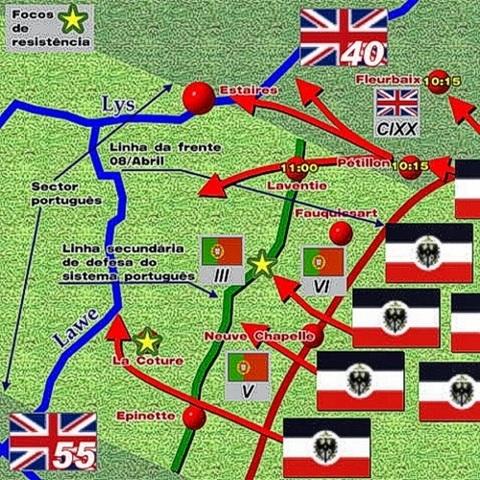 Batalla de La Lys