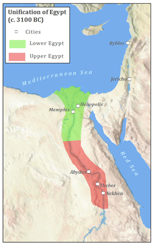 Unification of Egypt as a single state