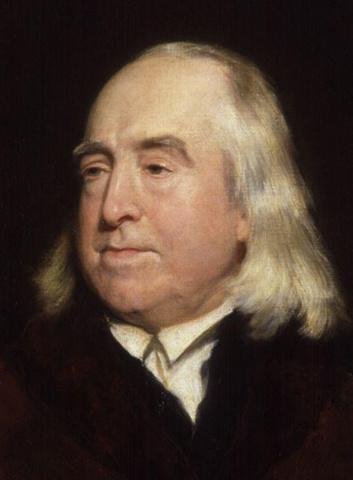 Death of Jeremy Bentham