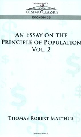 "Publication of ""Essay on Population."""