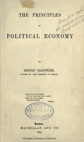 """Publication of """"The Principles of Political Economy""""."""