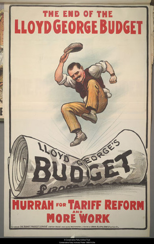 Proposal of The People`s Budget of 1909.