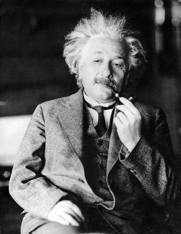 Einstein`s Theory of Relativity.
