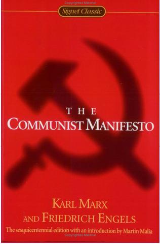 "Publication of ""The Communist Manifesto."""