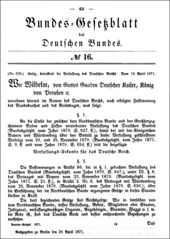 Constitution of 1871.