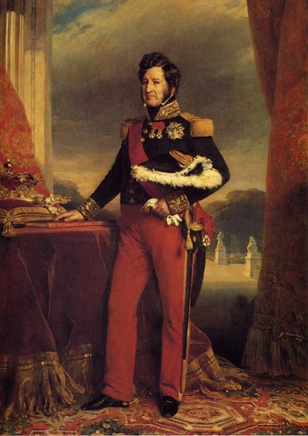 Accession of Louis Philippe.