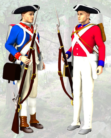 End of French vs. British war.