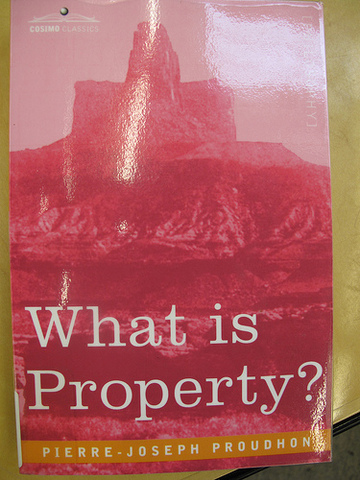 """Publication of """"What is Property?"""""""