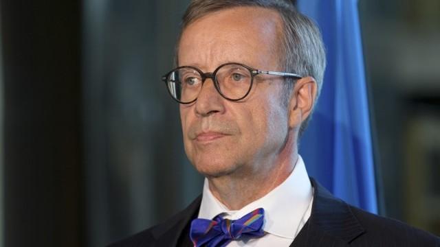Eesti president  Toomas Hendrik Ilves