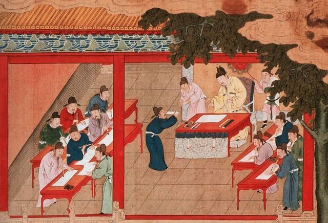 Impiracle Academy in Han Dynasty