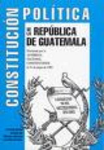 Reforma a la Constitucion Politica de la Republica de Guatemala