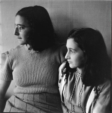 Margot and Anne attend all-Jewish school