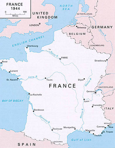 Allies successful in Invasion of France