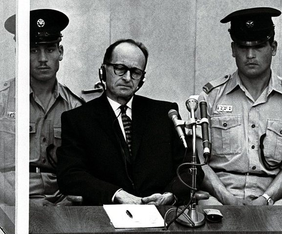Eichmann captured and ultimately executed